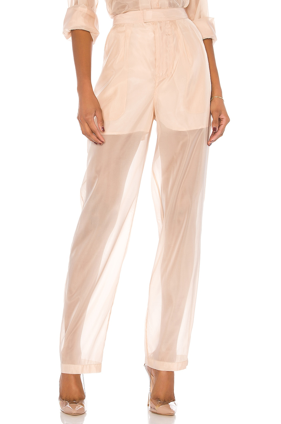 L'Academie The Damiana Pant in Nude