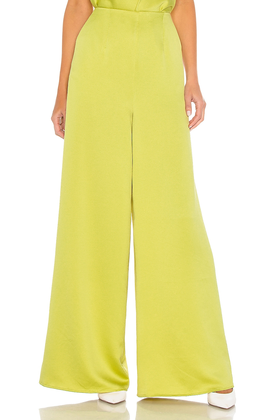 L'Academie The Orlina Pant in Apple Green