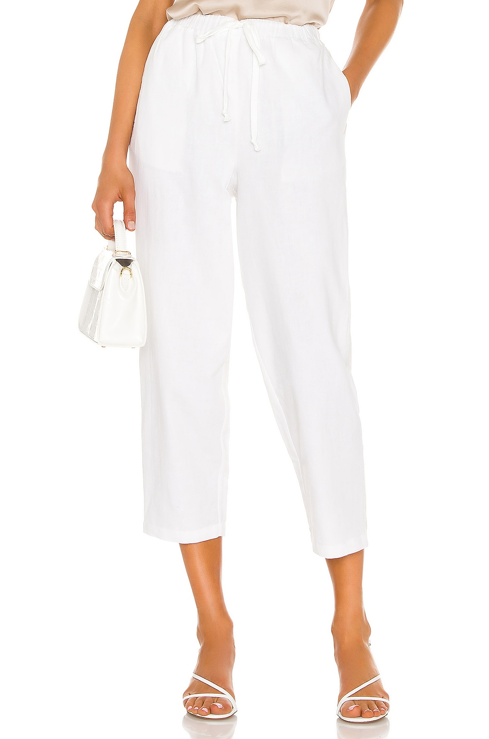 L'Academie The Ari Pant in White
