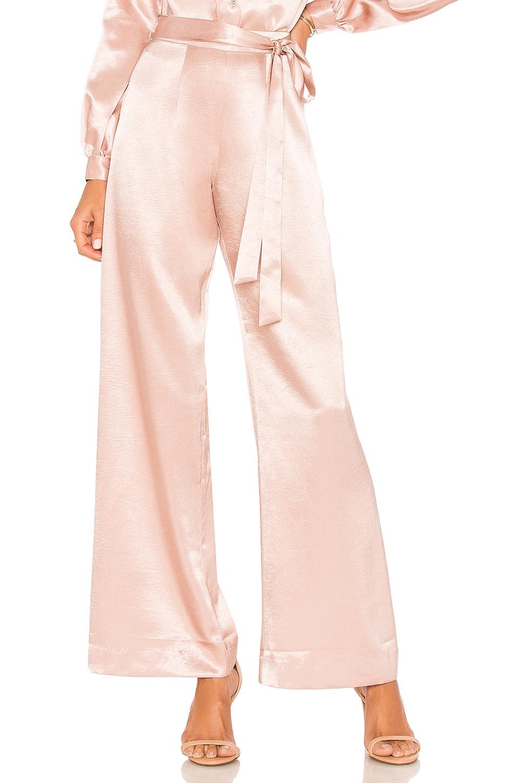 L'Academie The Celine Pant in Rose Quartz