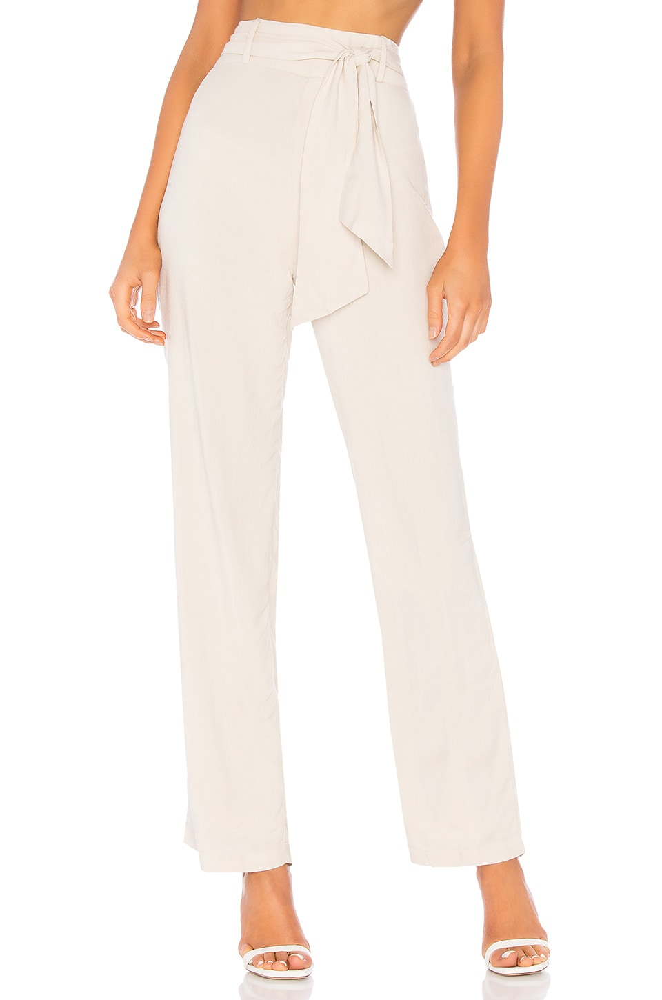 L'Academie The Porto Pant in Oatmeal