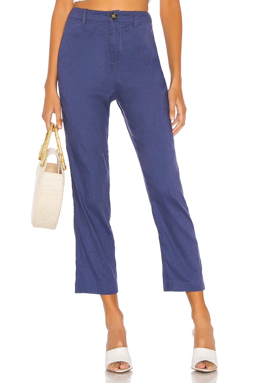 L'Academie The Charley Pant in Midnight Blue