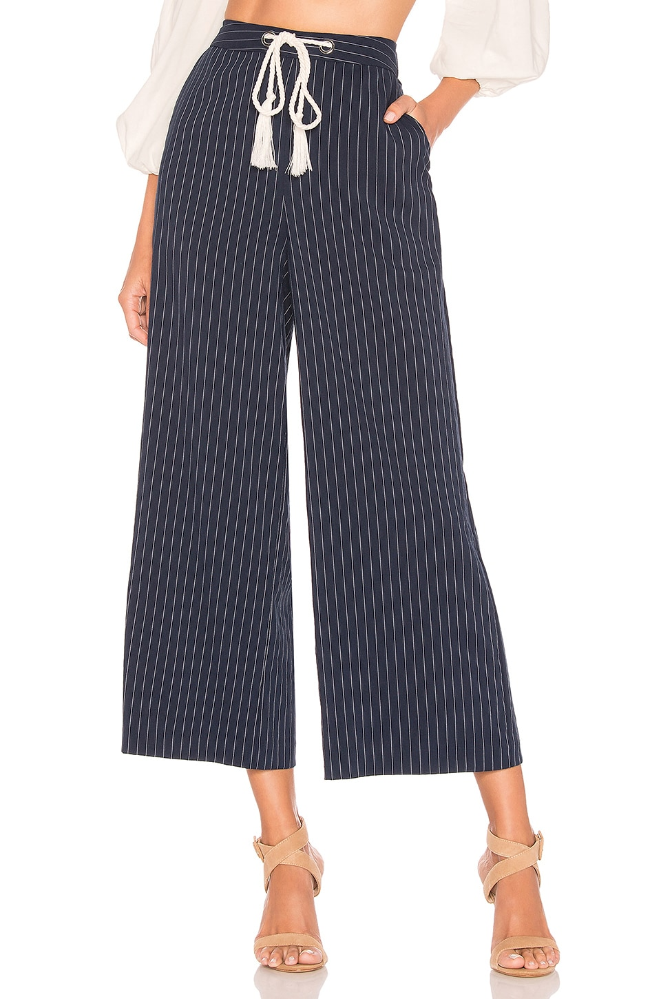 L'Academie Clayton Pants in Navy
