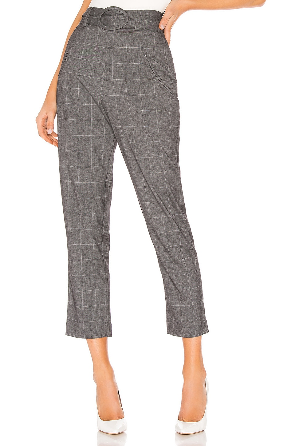 L'Academie The Joan Pant in Grey