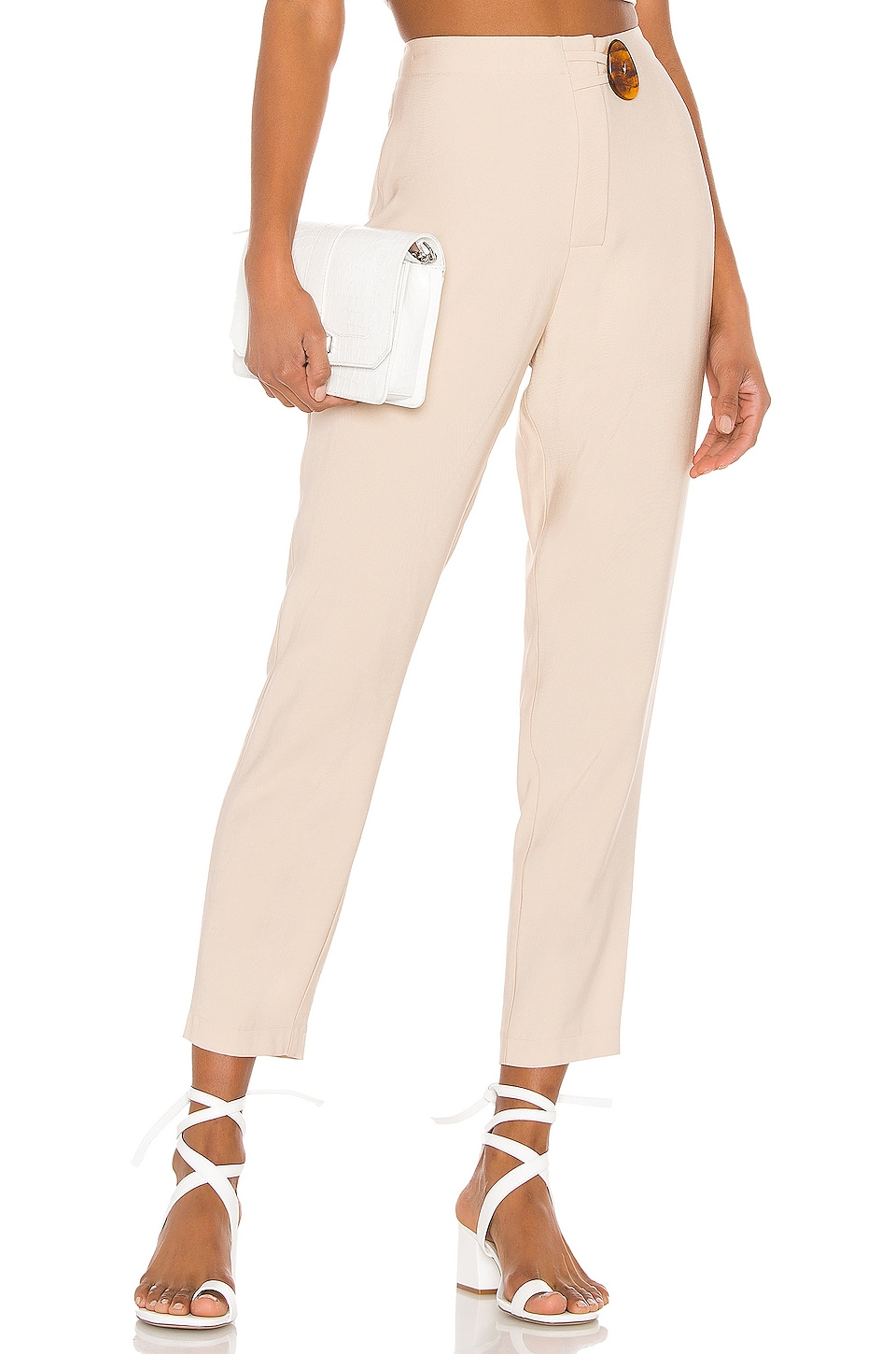 L'Academie The Nicole Pant in Sand