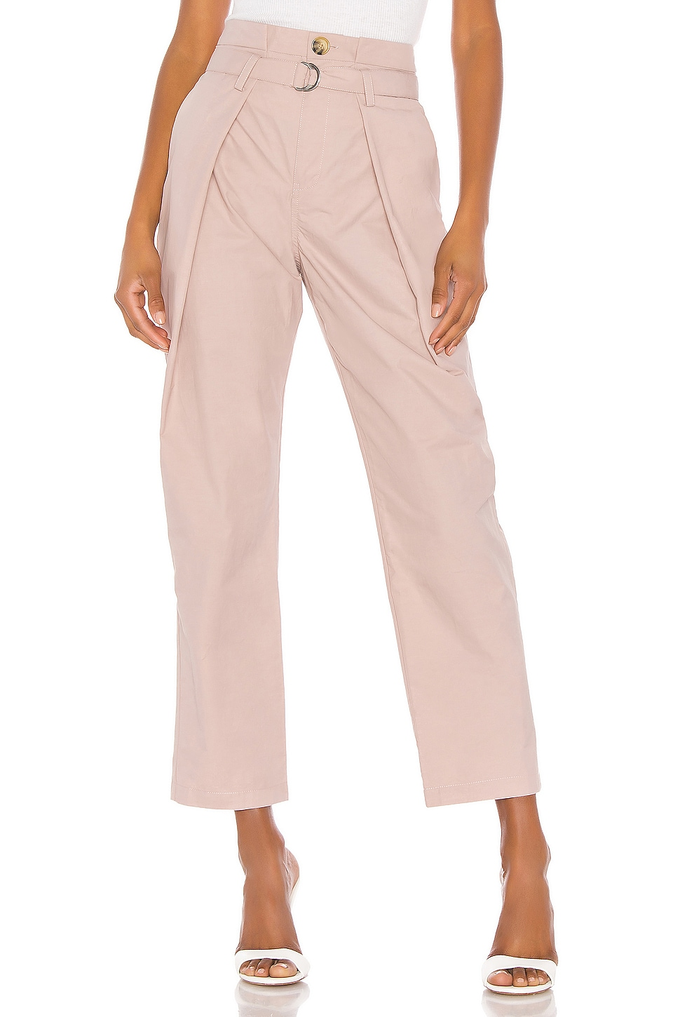 L'Academie The Connie Pant in Mauve