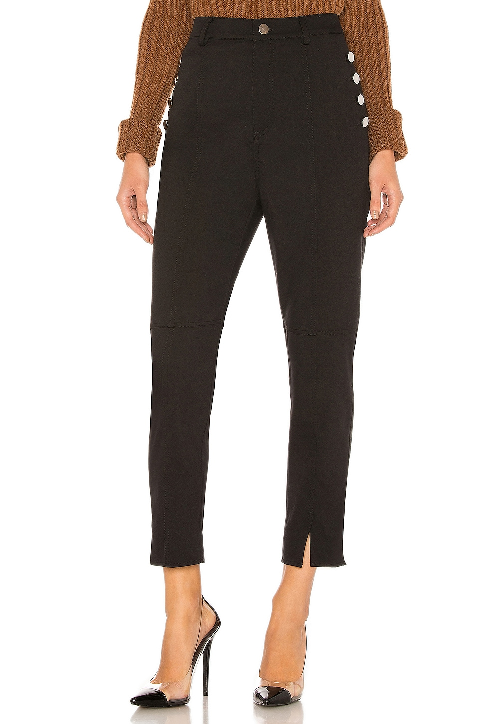 L'Academie The Mirabella Pant in Black