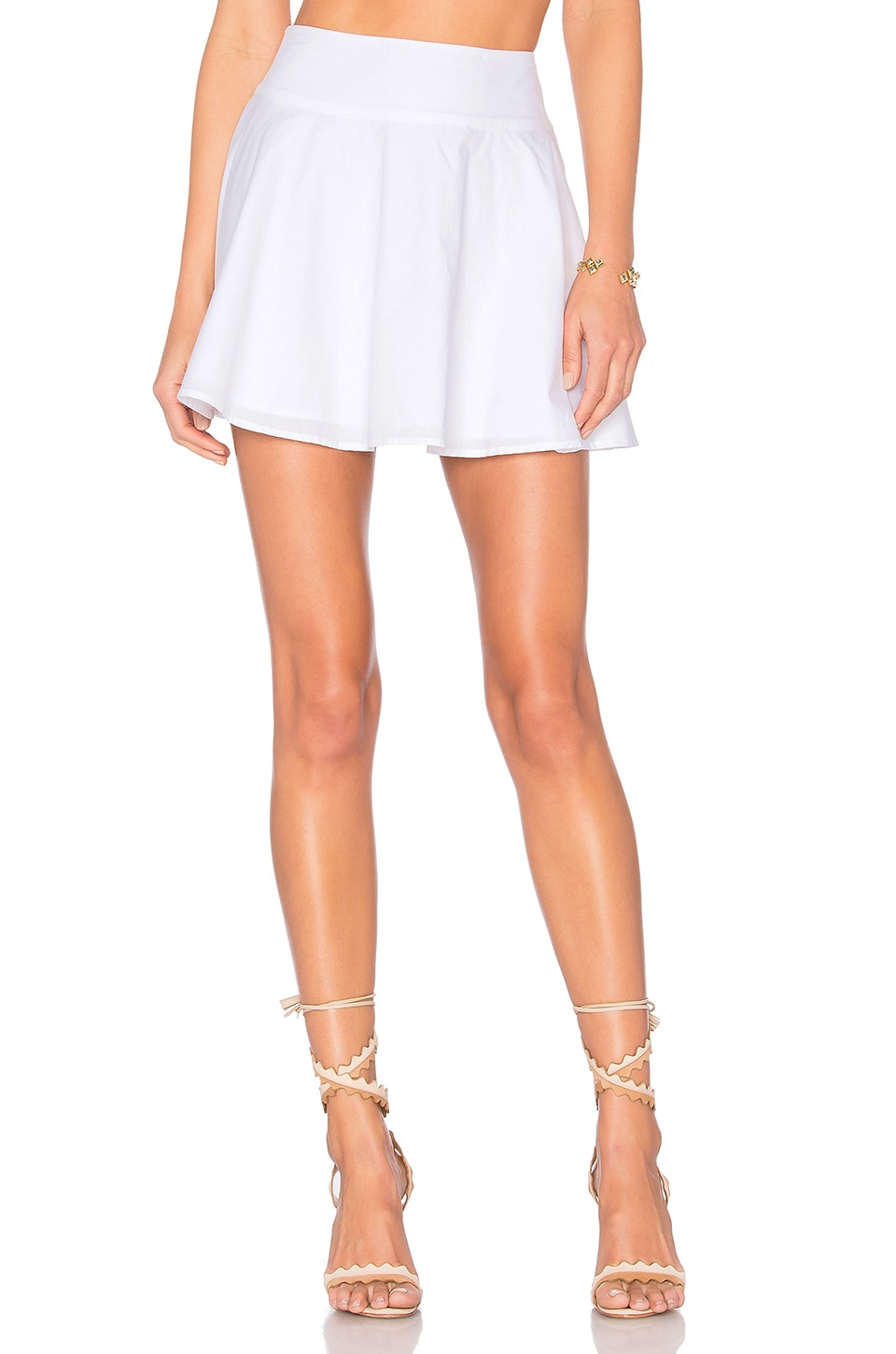 L'Academie x REVOLVE The Circle Skirt in White