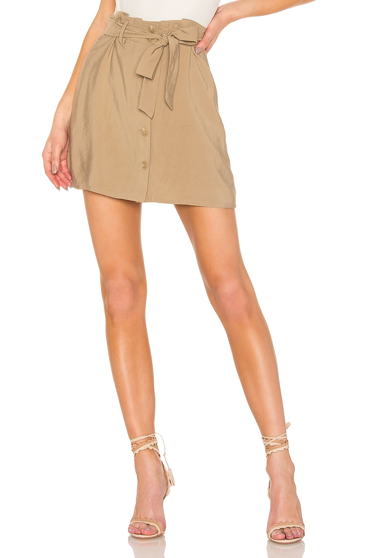 L'Academie Charming Skirt in Beige