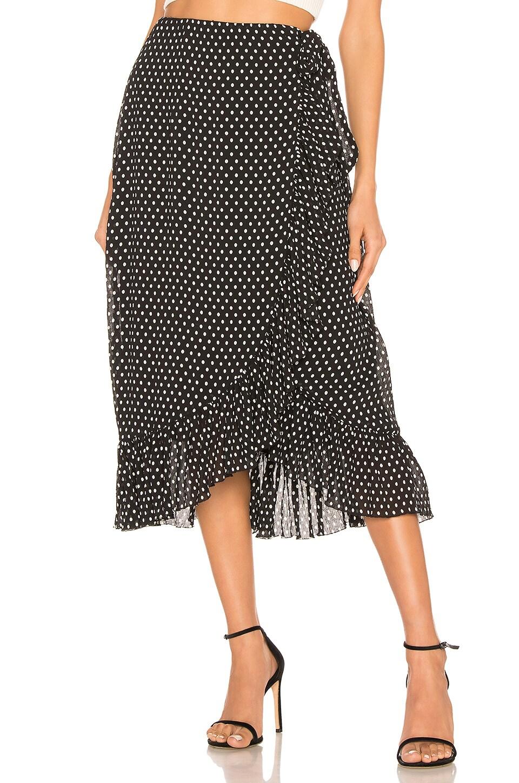 L'Academie The Cara Skirt in Black & White