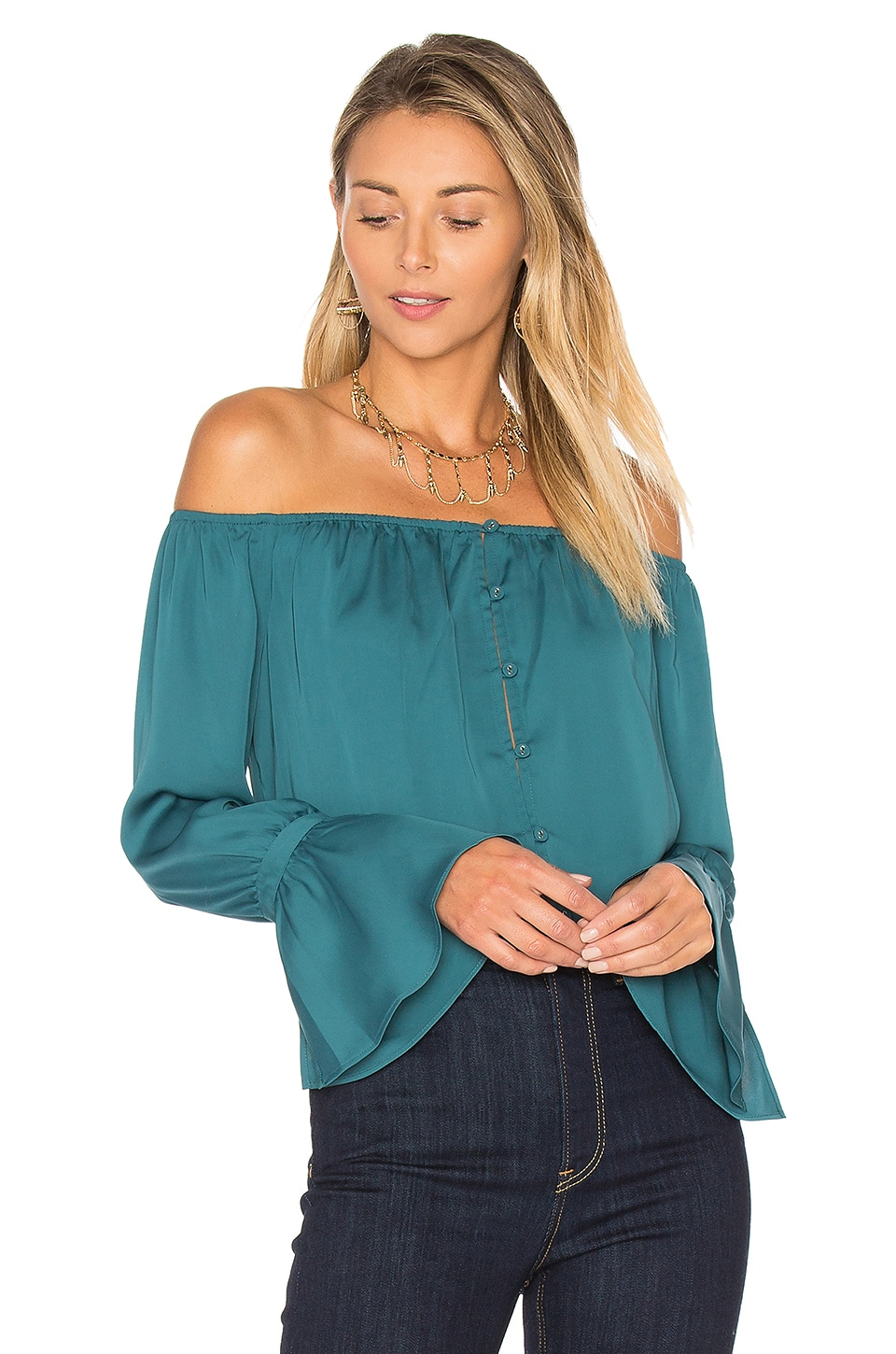 The Off Shoulder Blouse by L'Academie