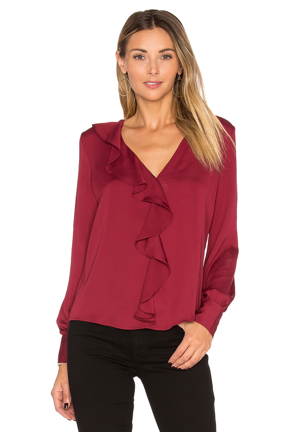 The Ruffle Blouse by L'Academie