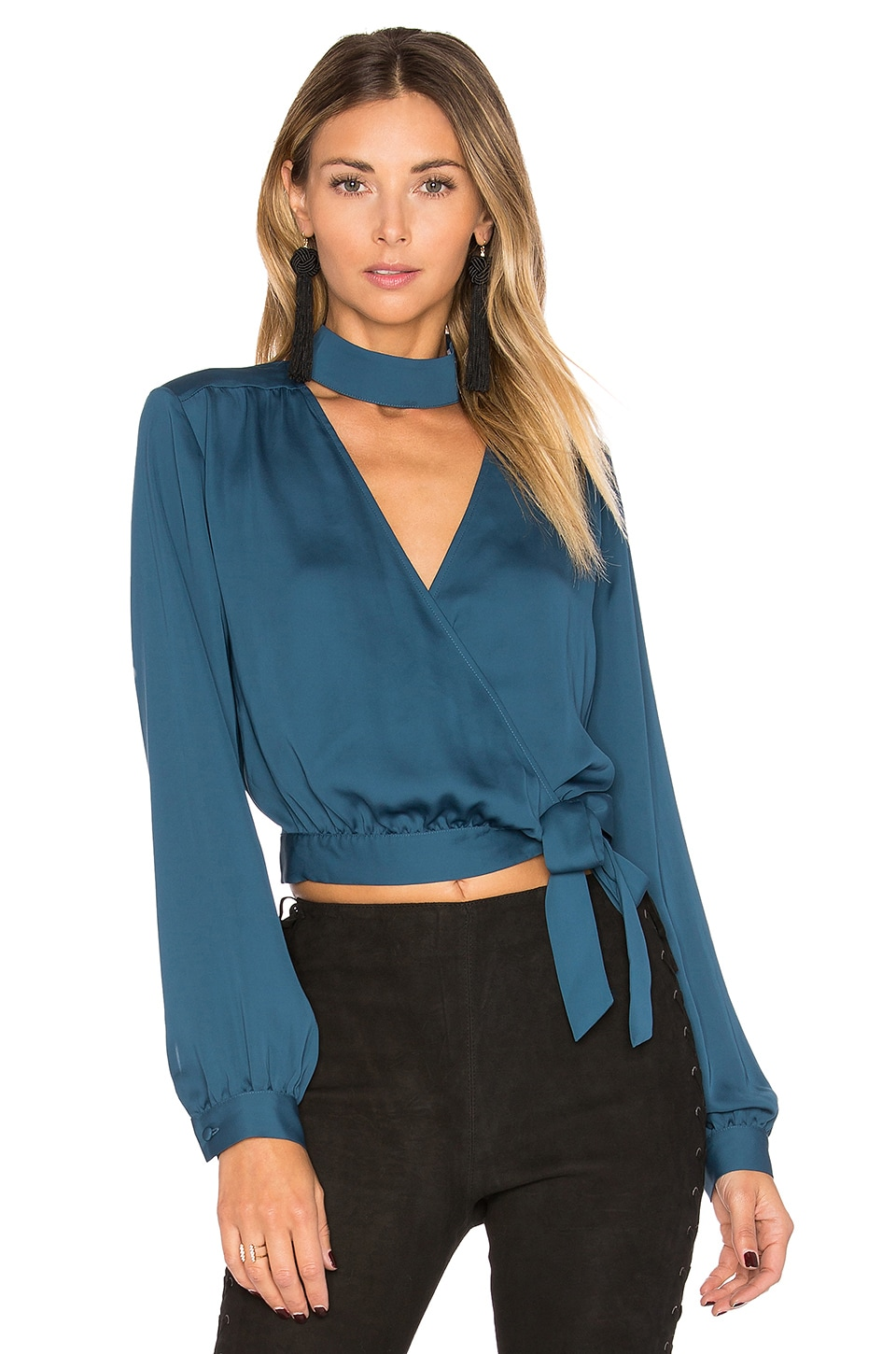 The High Collar Wrap by L'Academie