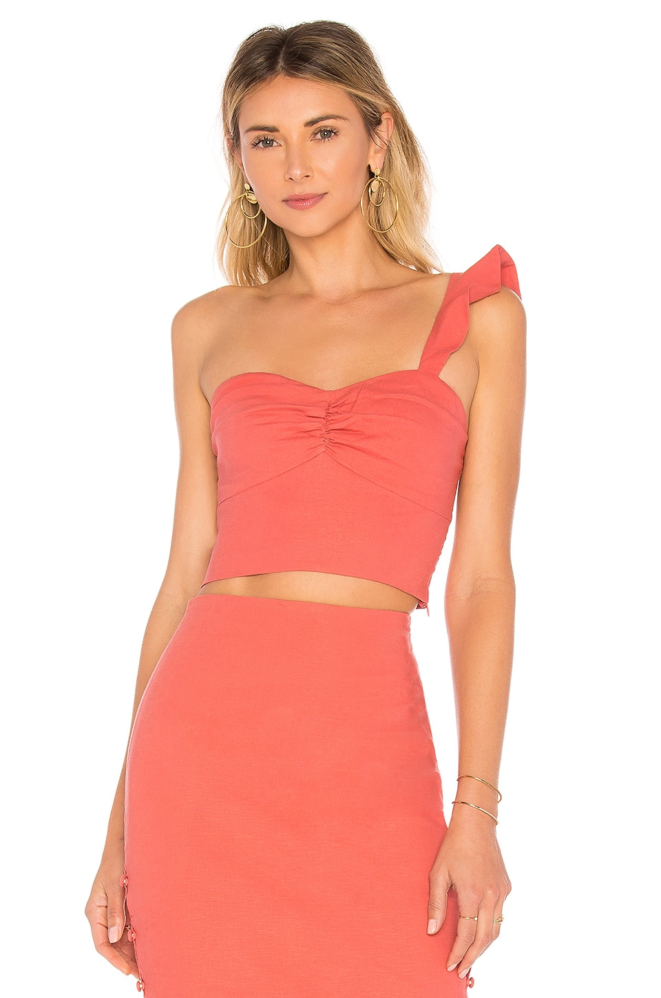 L'Academie The Cypress Top in Rose Terracotta
