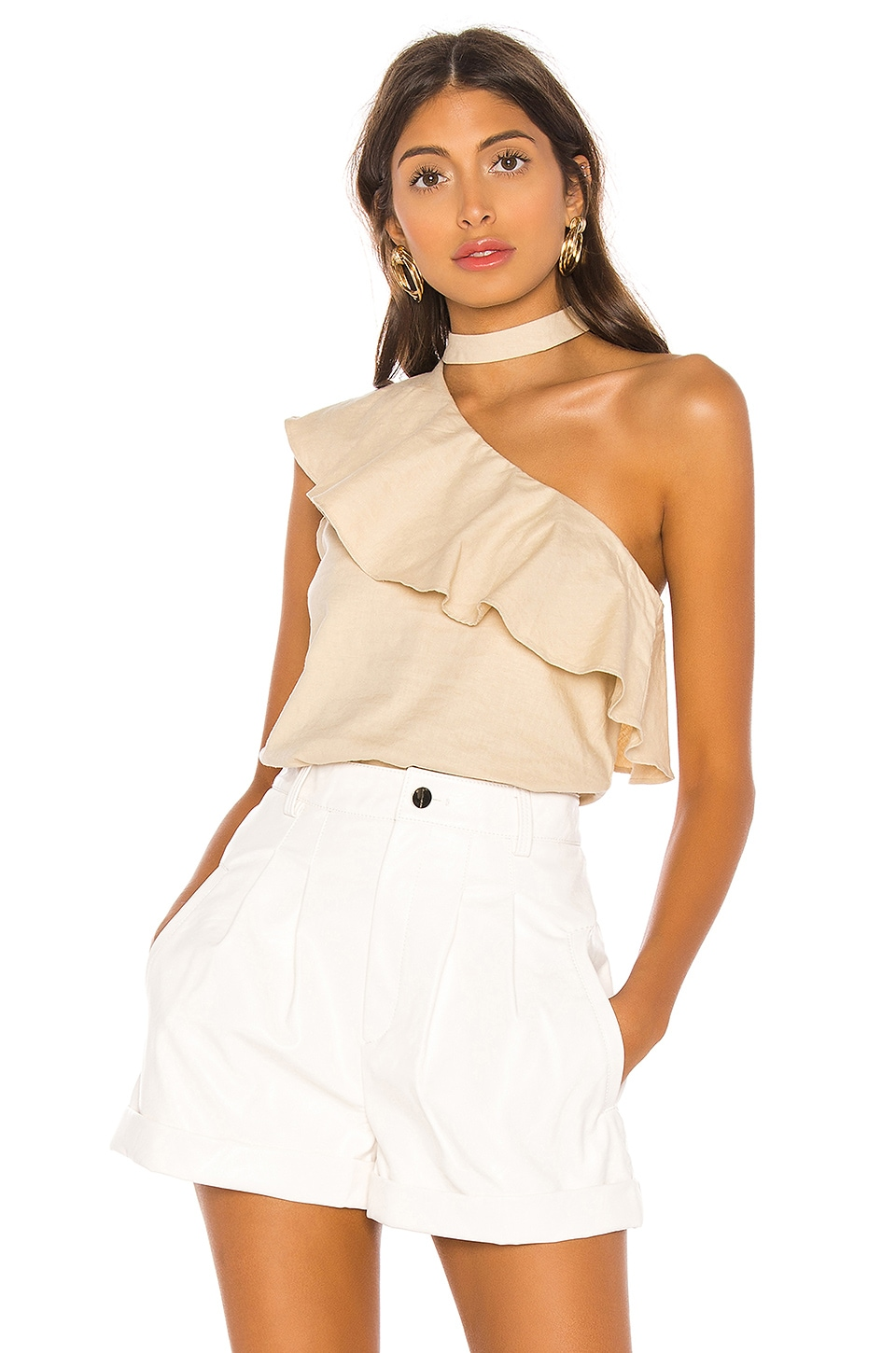 L'Academie The Seberg Top in Natural