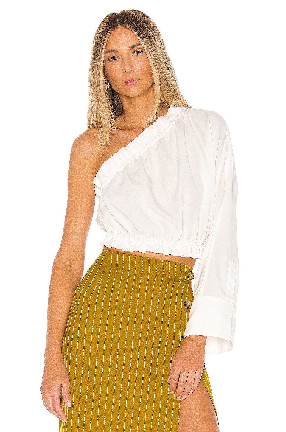 L'Academie The Emile Top en White