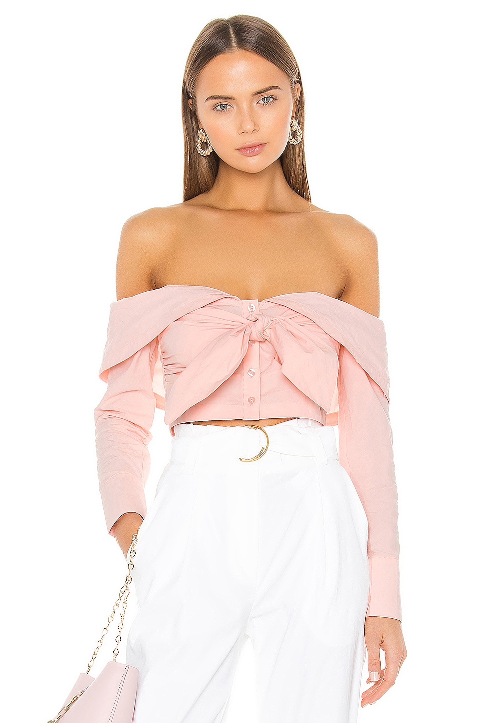 L'Academie The Jasmine Top in Pink