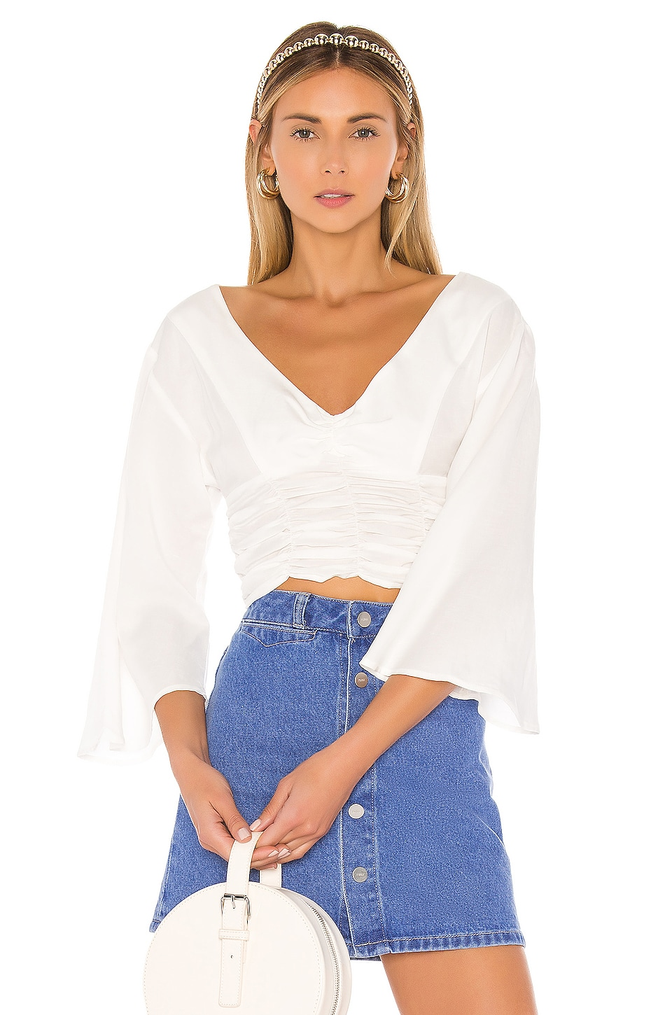 L'Academie The Antoine Top in White