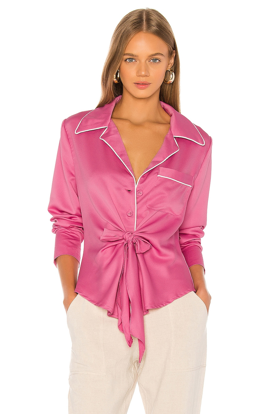 L'Academie The Eloise Top in Orchid