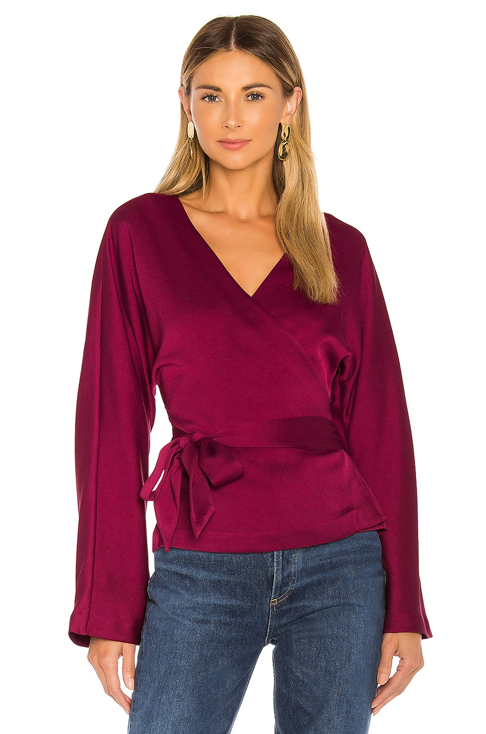 L'Academie The Bonnie Top in Rumba Red