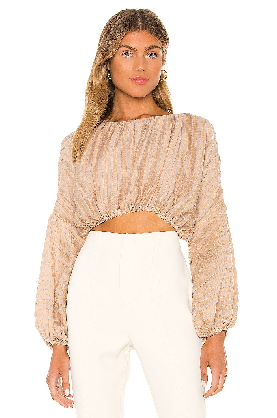 L'Academie TOP CROPPED RIVA