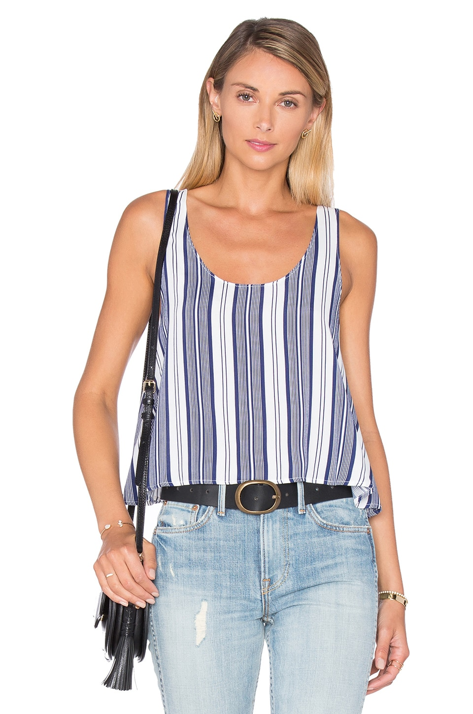 L'Academie The Swing Tank Blouse in Sailor Stripe