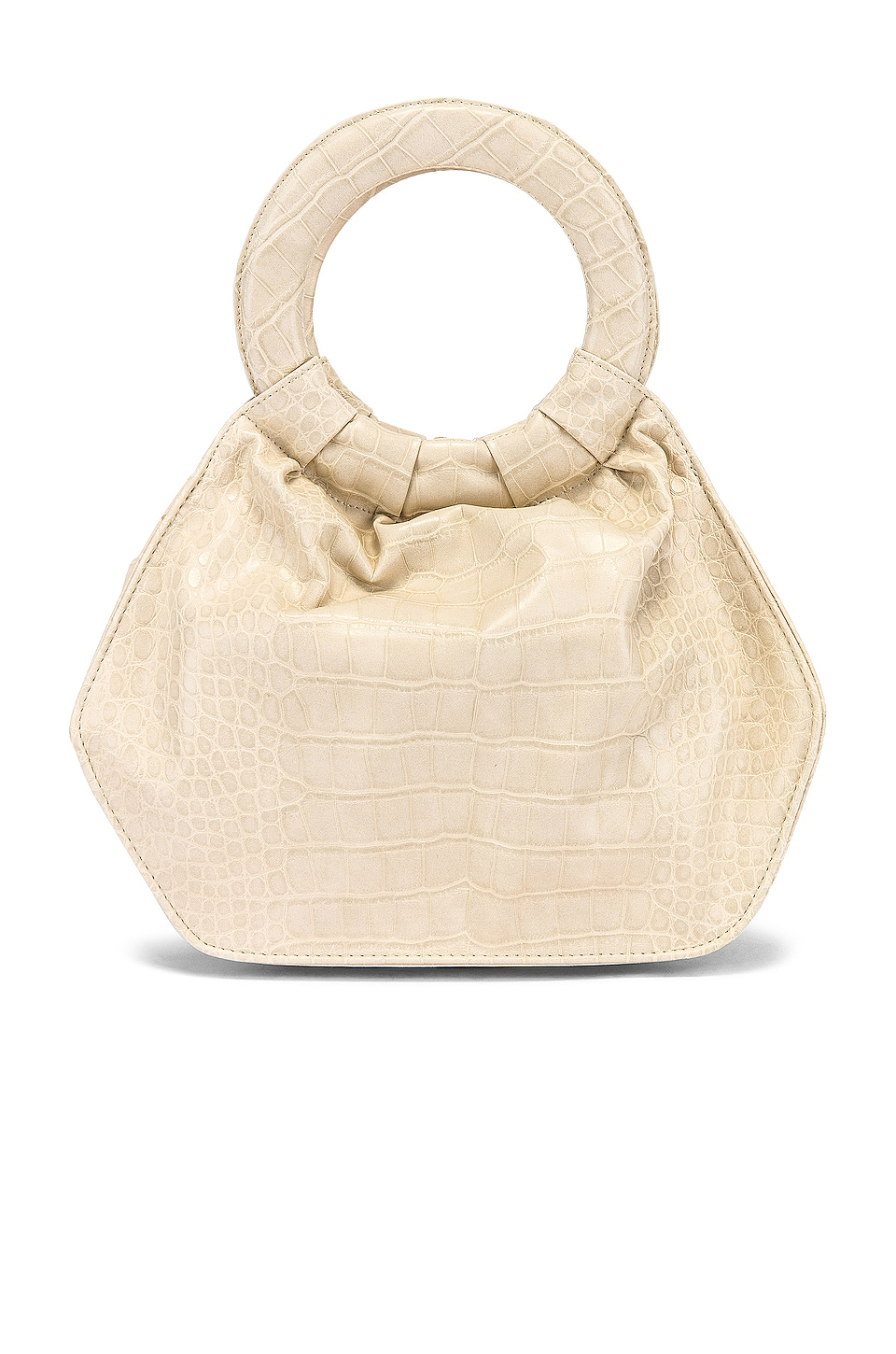 L'Academie Fred Bag in Cream