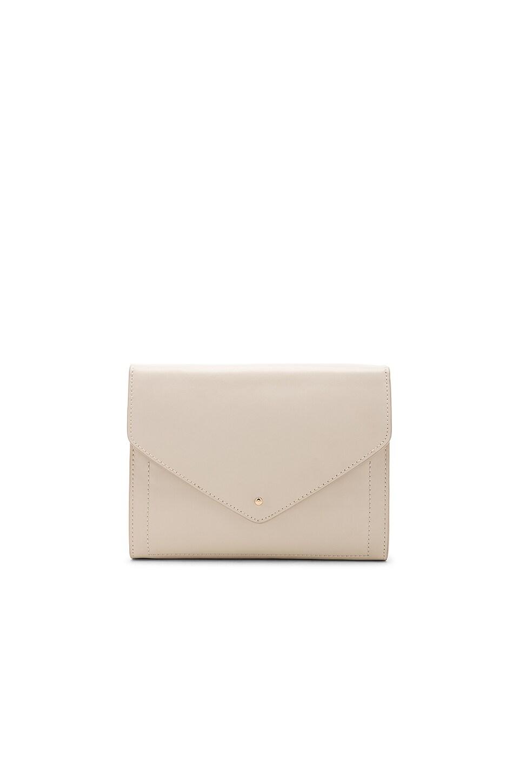 L'Academie Loma Envelope Bag in Bone