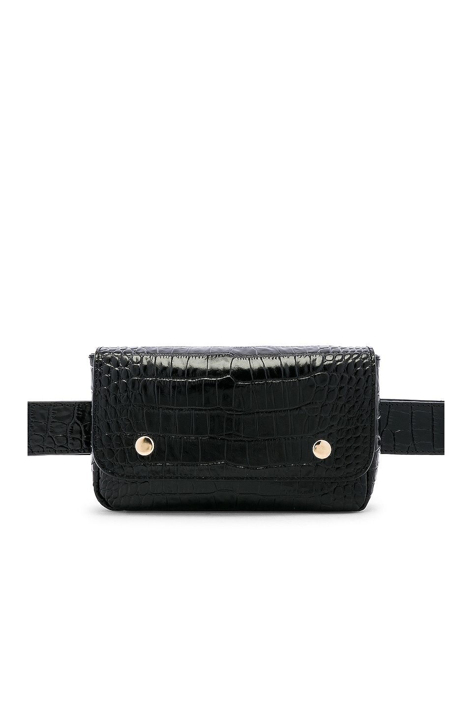L'Academie Caden Belt Bag in Black