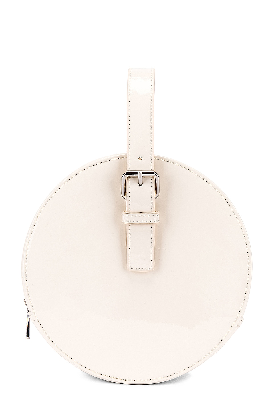 L'Academie Aoife Circle Bag in Bone
