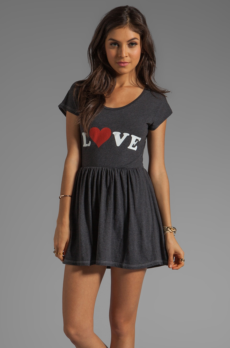 Local Celebrity Love Mini Dress in Black