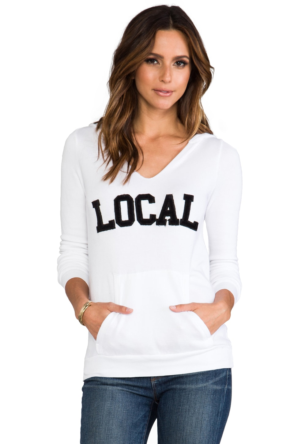 Local Celebrity Local Crosby Hoodie in White
