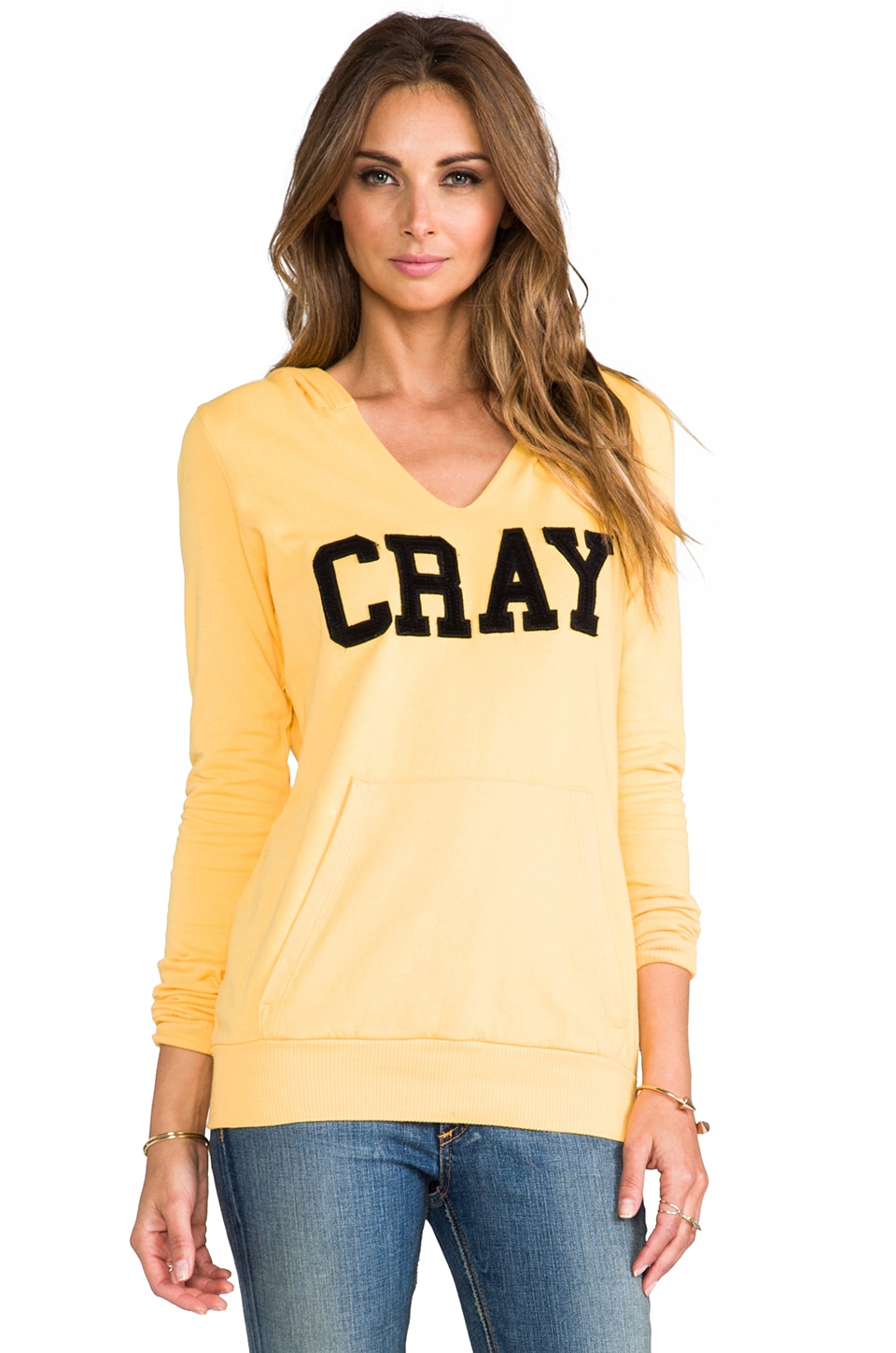 Local Celebrity Cray Crosby Hoodie in Gold