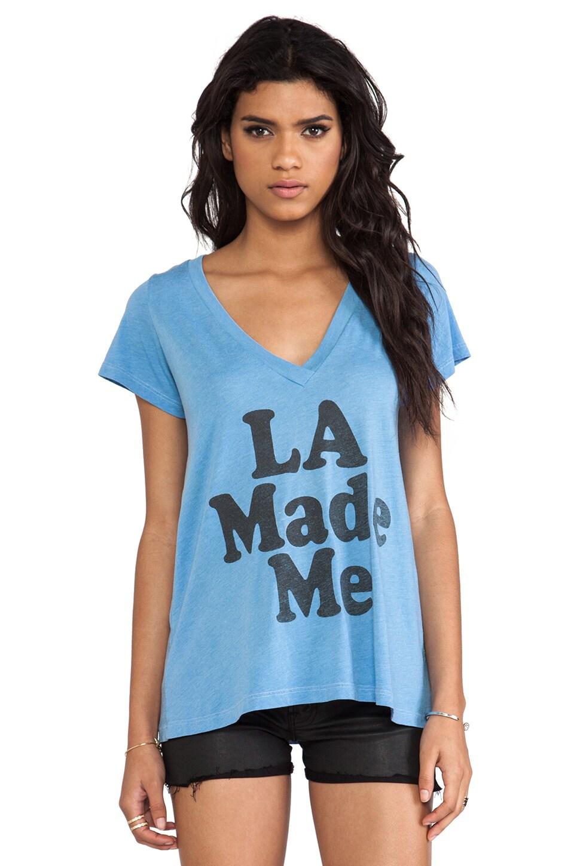 Local Celebrity Jovi LA Made Me Tee in Light Blue