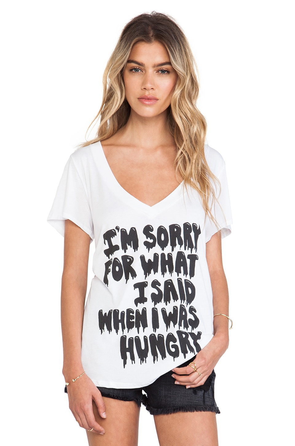 Local Celebrity Hungry Jovi Tee in White
