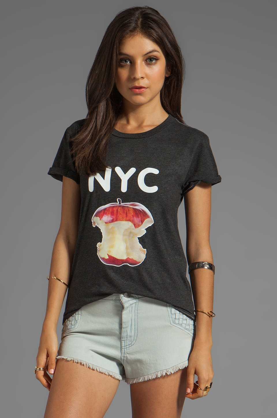 Local Celebrity NYC Tee in Black