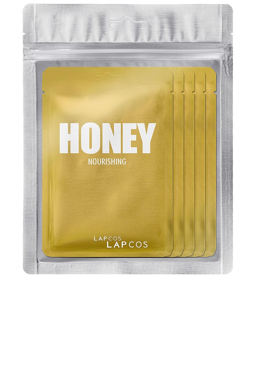 LAPCOS Honey Daily Skin Mask 5 Pack