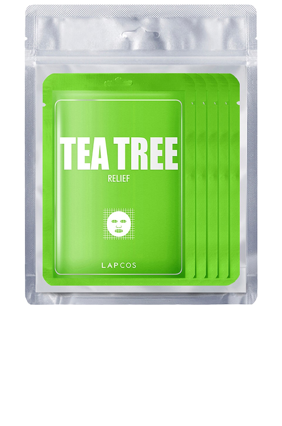LAPCOS Tea Tree Derma Mask 5 Pack