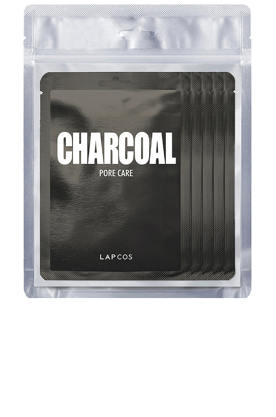 LAPCOS Charcoal Daily Skin Mask 5 Pack