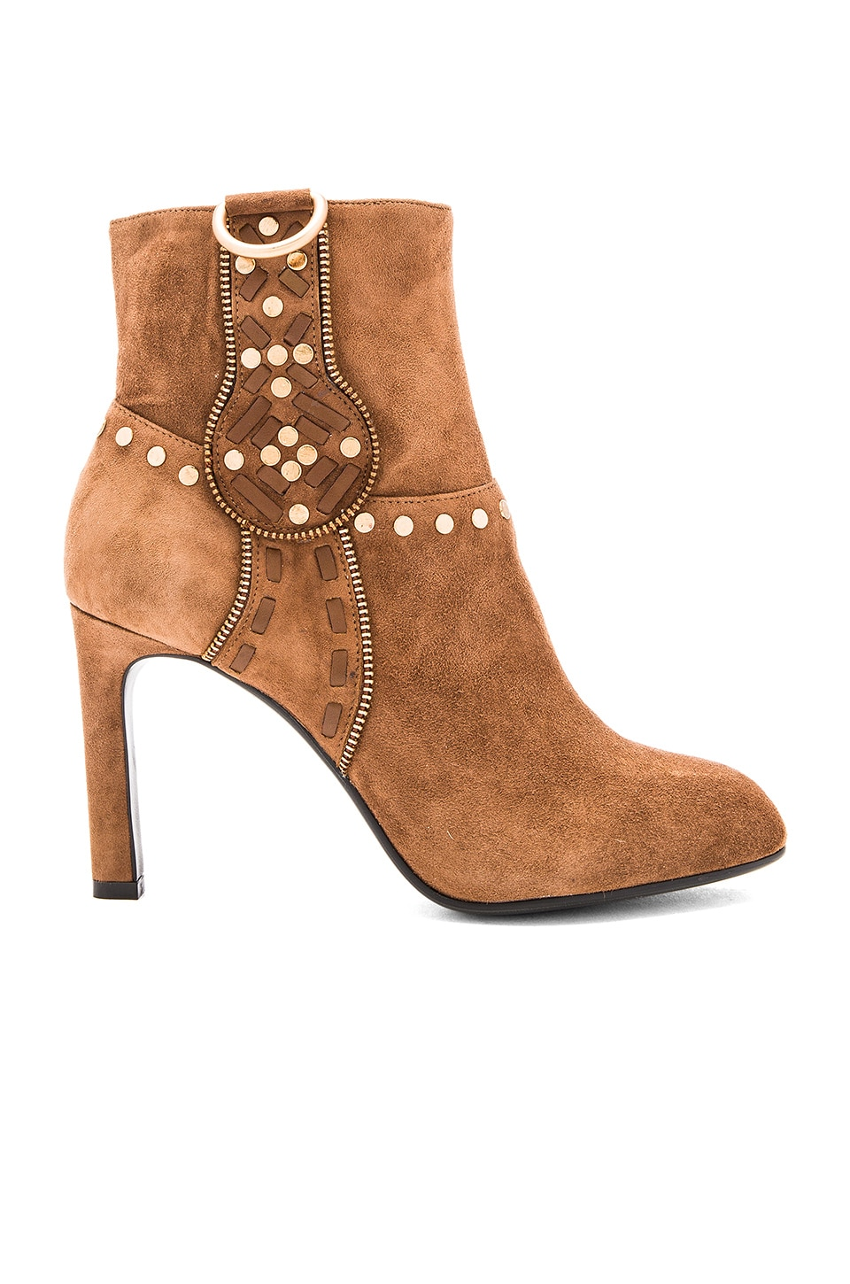 Lola Cruz Aniak Bootie in Tan