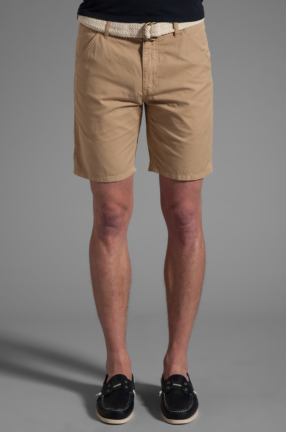 life/after/denim Maldives Chino Short in Khaki
