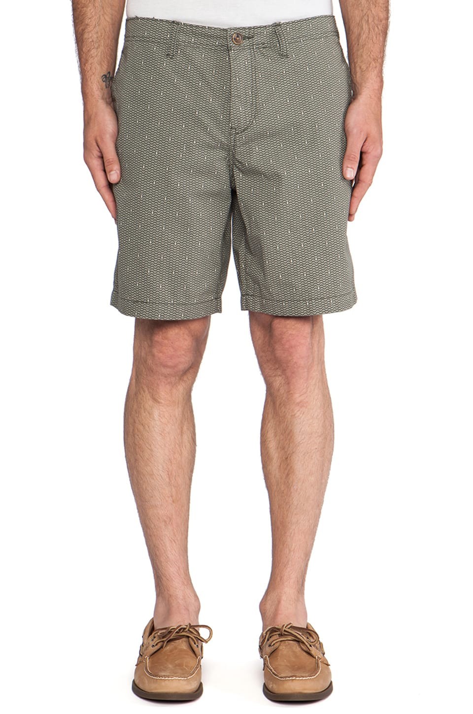 life/after/denim Pacific Short in Safari Green