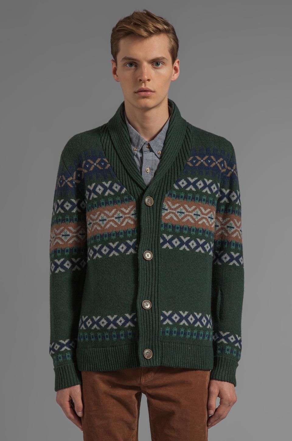 life/after/denim Dandy Cardigan in Green Gables