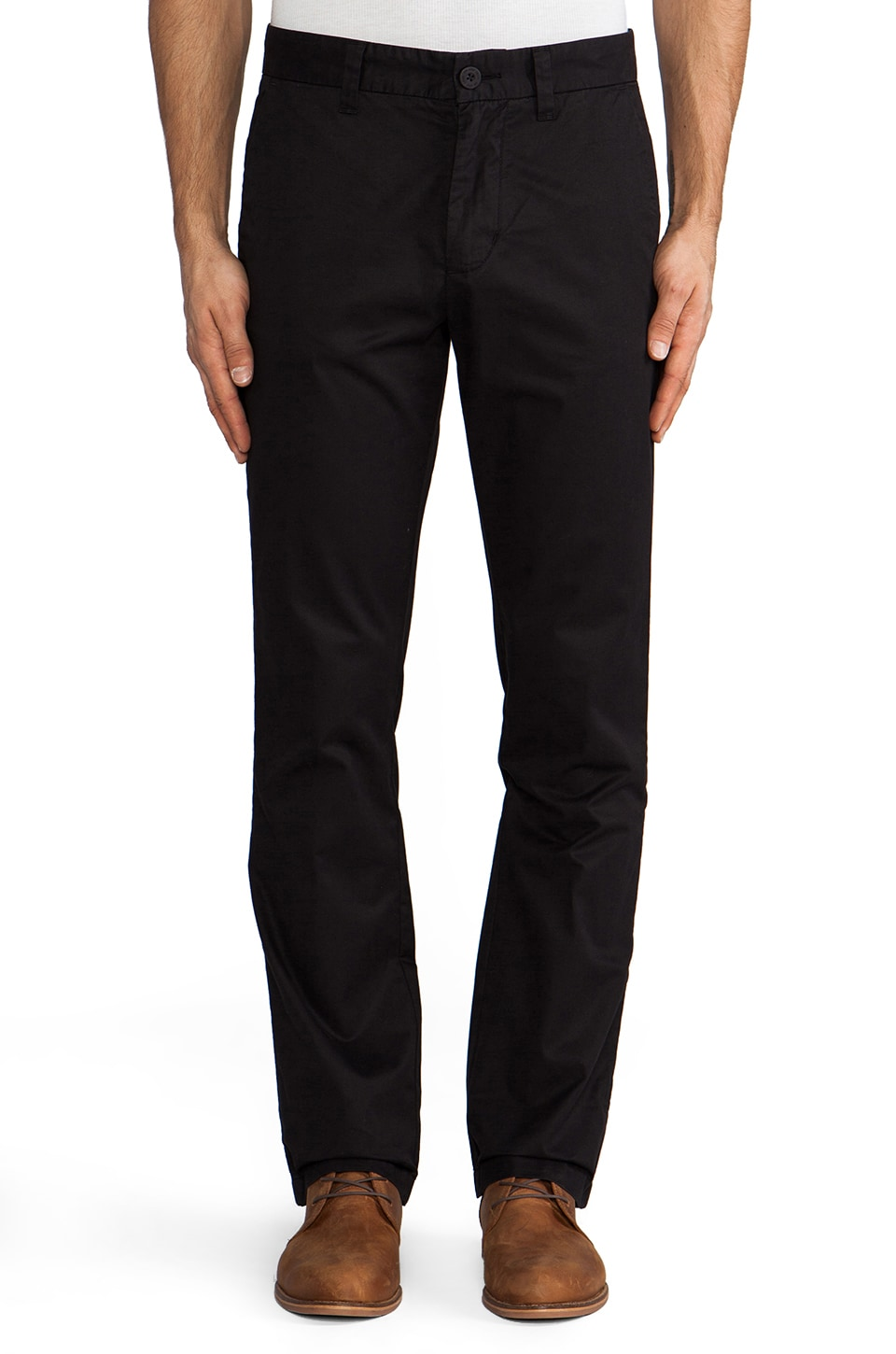 life/after/denim 5oz Slim Fit Chino in Black