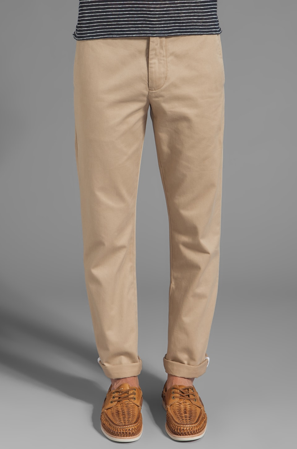life/after/denim Slim Fit Chino in Khaki