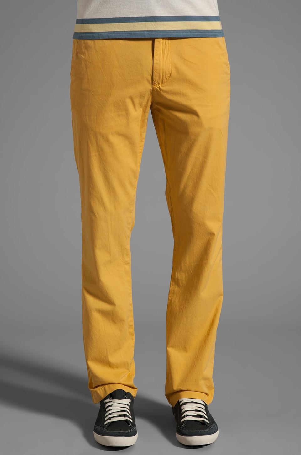 life/after/denim 5 OZ. Slim Fit Chino in Goldengate