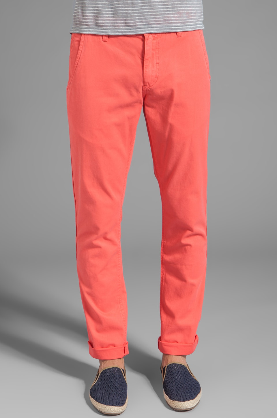 life/after/denim Skinny Fit Chino in Melon