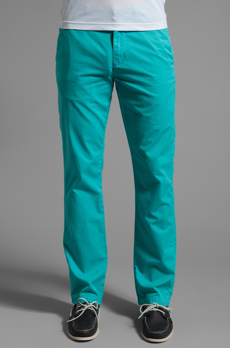life/after/denim Slim Fit Chino in Blue Curacao