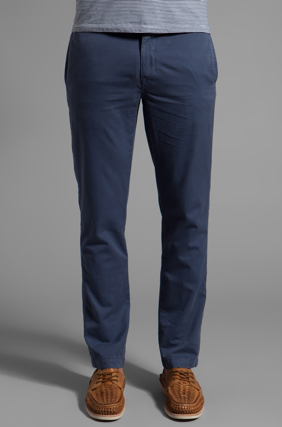 life/after/denim Modern Slim Fit Chino in Greystone