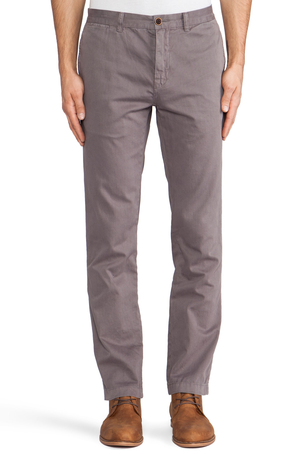 life/after/denim Modern Slim Fit Chino in New Grey